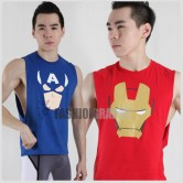 Avengers Hero Side Deep-V Hunky Singlet