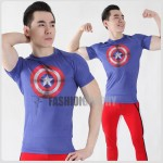 Captain America Shield Compression T-shirt