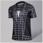 Black Spiderman Compression T-shirt II