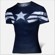 Captain America Compression T-shirt II