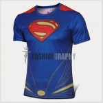 Superman Compression T-shirt III - Men's Sportswear