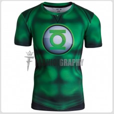 Green Lantern Compression T-shirt III - Men's Sportswear