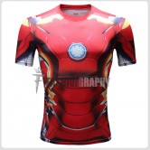 Iron Man Compression T-shirt III- Men's Sportswear