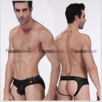 Wild Leather Jockstrap Men's Underwear