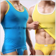 Silk Smooth Men's Singlet