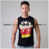 Shinchan Side Deep-V Hunky Singlet