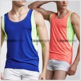 Duo Color Active Men's Singlet
