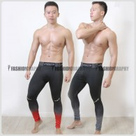 Burn Up Compression Long Pants for Men