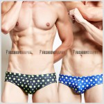 Polka Dot Bikini Swimwear for Men