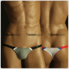 Extra Low Waist Duo Colors T-back - Men's Underwear