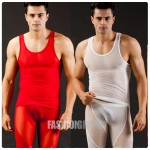 Mesh Transparent Men's Singlet