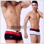 Tri-color Swimwear Trunk