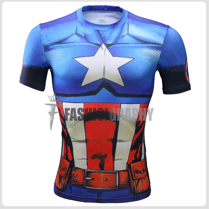 Captain America Compression shirt