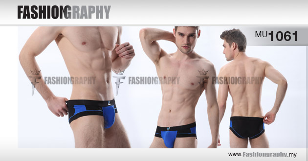 Black - Mix colours underwear brief for men