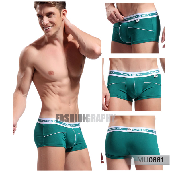 Thursday clingy men's underwear trunk
